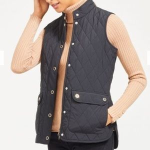 J.McLaughlin Black Langley Puffer Vest